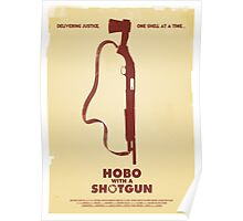 Hobo with a Shotgun (2011) Custom Poster Poster