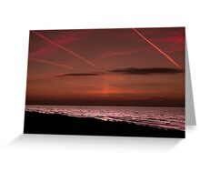 Sleepy shores  in Holland Greeting Card