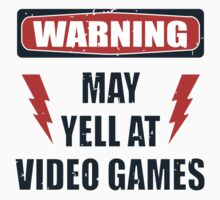 Gamer Warning 2.0 by buzatron