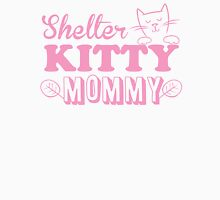 Shelter kitty mommy Womens Fitted T-Shirt