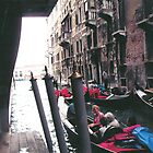 PARKING GONDOLAS EL BAUER- VENICE -ITALY- EUROPA- 2000 VISUALIZz. 2013  -  VETRINA RB EXPLORE 27 NOVEMBRE 2011 -       - by Guendalyn