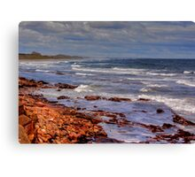 Sea View - Bamburgh Canvas Print