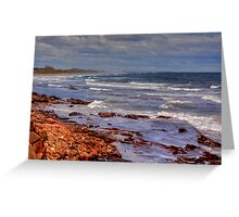 Sea View - Bamburgh Greeting Card