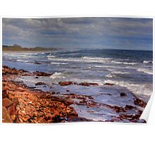 Sea View - Bamburgh Poster