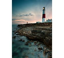 Portland Lighthouse Sunset.  Photographic Print