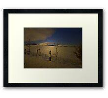 DRIVING HOME FOR CHRISTMAS Framed Print