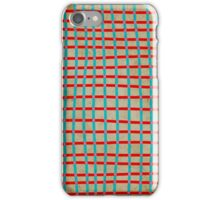 Checked Blue Red Pink iphone case 4 iPhone Case/Skin