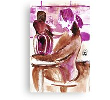 The Merry One Canvas Print