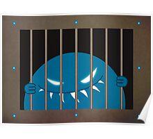Evil Monster Kingpin Jailed Poster