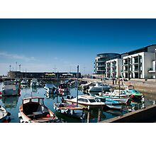 West bay Harbour.  Photographic Print
