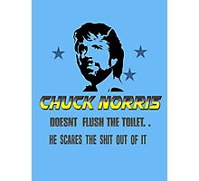 chuck be tough 3.  Photographic Print