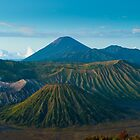 Bromo volcano at sunrise, Java, Indonesia by javarman