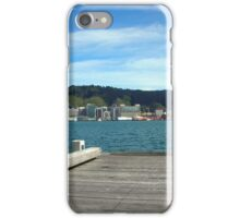 Wellington Pier Harbour View iPhone Case/Skin