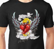 Flaming Heart Unisex T-Shirt