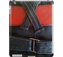 Fancy jeans, red belt iPad Case/Skin