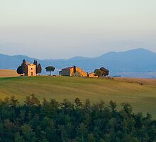 Typical tuscan landscape by javarman