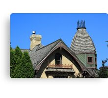 House Turret Canvas Print