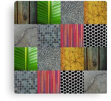Texture Blocks Canvas Print
