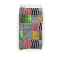 Texture Blocks Duvet Cover