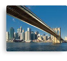 Brooklyn bridge, New York Canvas Print