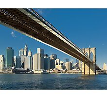 Brooklyn bridge, New York Photographic Print