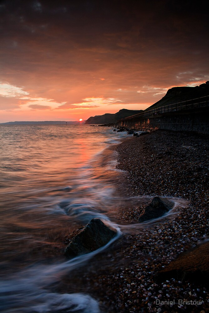 West Bay Sunset by Daniel  Bristow