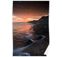 West Bay Sunset Poster