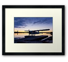 Evening Light on a DeHavilland Beaver Framed Print