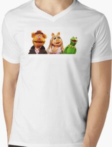 Muppets Mens V-Neck T-Shirt