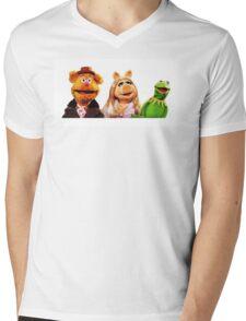 Muppets Mens V-Neck T-Shirt