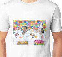 Dog 121 Chihuahua in Bath Unisex T-Shirt