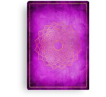 Crown Chakra Canvas Print