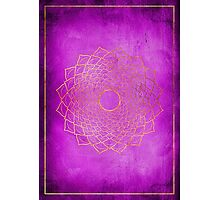 Crown Chakra Photographic Print