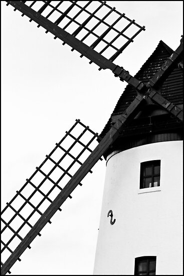 Lytham Windmill by inkedsandra