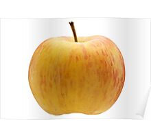Multicoloured apple Poster