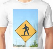 Crosswalk Sign Unisex T-Shirt