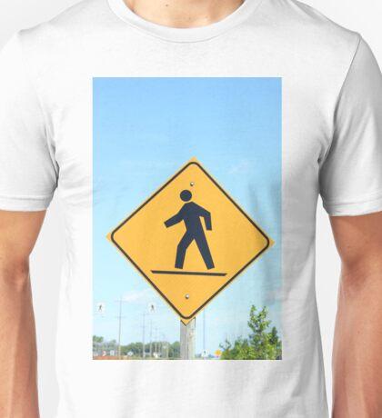 Crosswalk Sign Unisex T-Shirt
