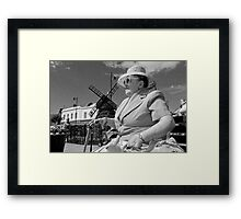 Formidable Appearance 01 Framed Print
