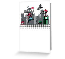 Mecha mario Greeting Card