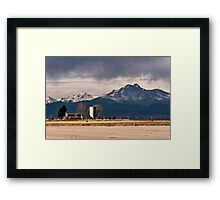 Living With Majesty Framed Print
