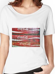 Red Wooden Crates Women's Relaxed Fit T-Shirt