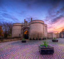 Nottingham Castle Sunset by Yhun Suarez