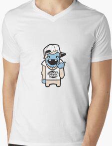 Laidback Yeti Mens V-Neck T-Shirt