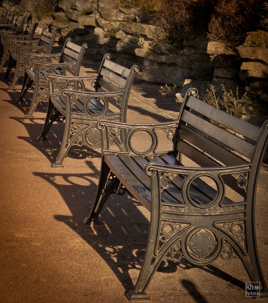 Benches by Kelvin Hughes