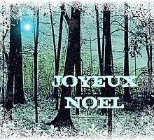 Joyeux Noel (en Francais) - greeting Card by Scott Mitchell