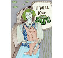 I Will Keep You Safe Photographic Print