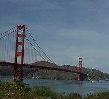 Golden Gate Bridge by leedgreen