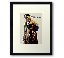 Kramer Pimp'n Framed Print