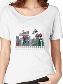 Mecha mario Women's Relaxed Fit T-Shirt
