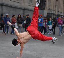 Street Acrobat by Peter Hammer